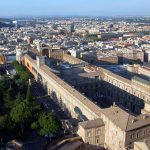 Vatican Palace and Museums with Bramante's Belvedere Courtyard, begun 1504