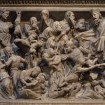 Giovanni Pisano, c.1297-1300,  Massacre of the Innocents, Pulpit, Sant' Andrea Pistoia