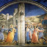 Fra Angelico et al, Life of St Stephen,1447–1449, Niccoline Chapel, Vatican Palace